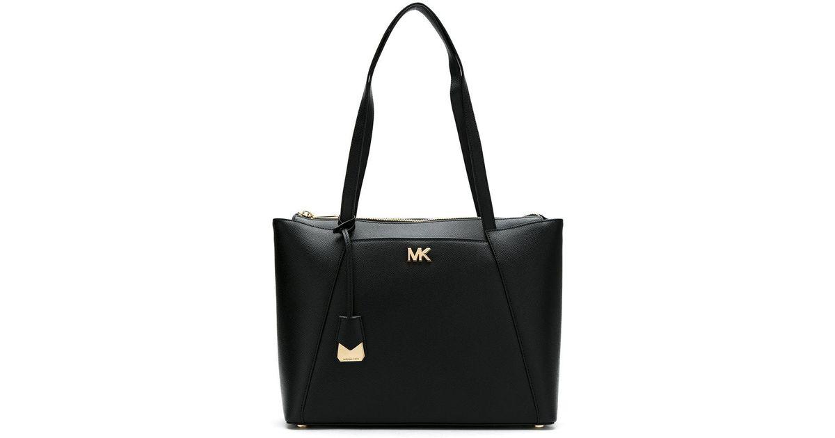 MICHAEL MICHAEL KORS 30S8GN2T2L 001 Leather/Fur/Exotic Skins->Leather - Black Michael Michael Kors eVcCw