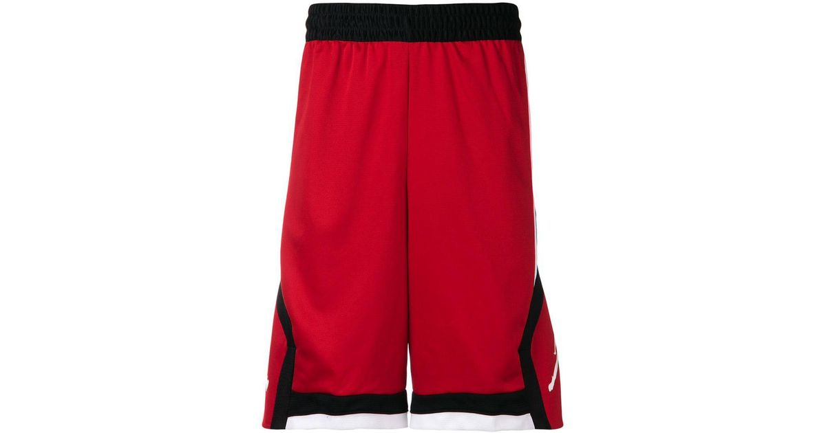 a8d9516d413f52 Lyst - Nike Air Jordan Basketball Shorts in Red for Men