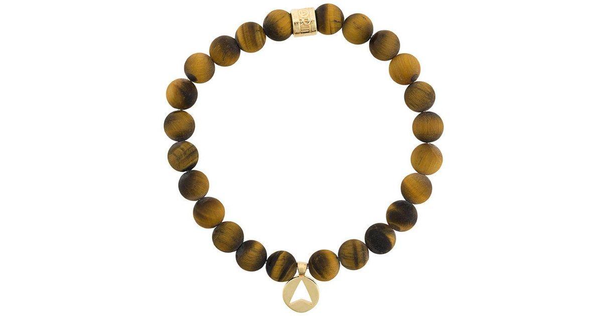 Northskull Pyrite Stone Insignia Charm bracelet - Metallic XSxcL7