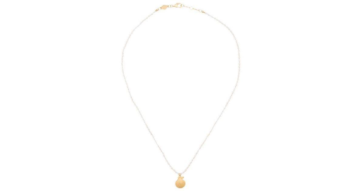 Halskette White Lyst Anni Mit Lu Muschel yIg6vYbf7