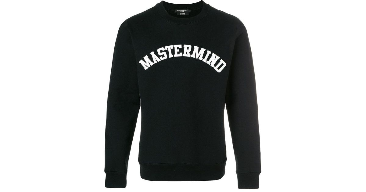 Free Shipping Official Site logo print sweatshirt - Black Mastermind Japan For Sale Online Cheap Discounts How Much Recommend For Sale jnybtZGb