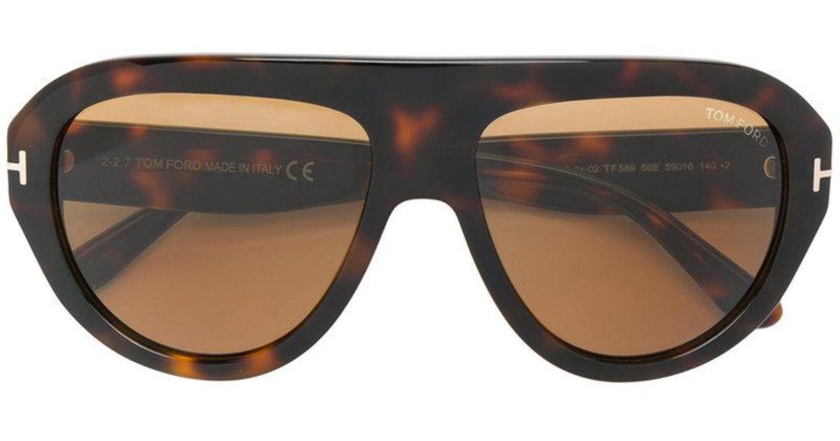 Felix sunglasses - Brown Tom Ford Eyewear 90GvCE