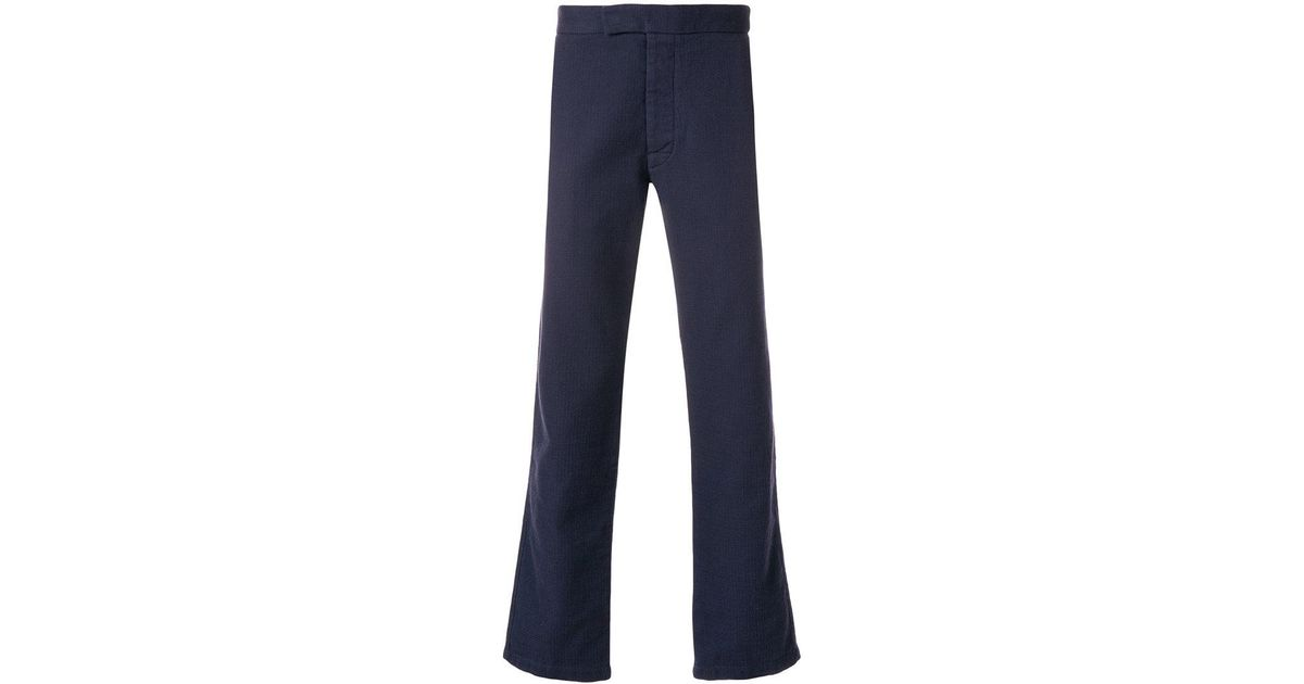 Cool Nico chino trousers - Blue Maison Kitsun Discount Price Buy Sale Online Amazing Price Online 2JEgyENQ