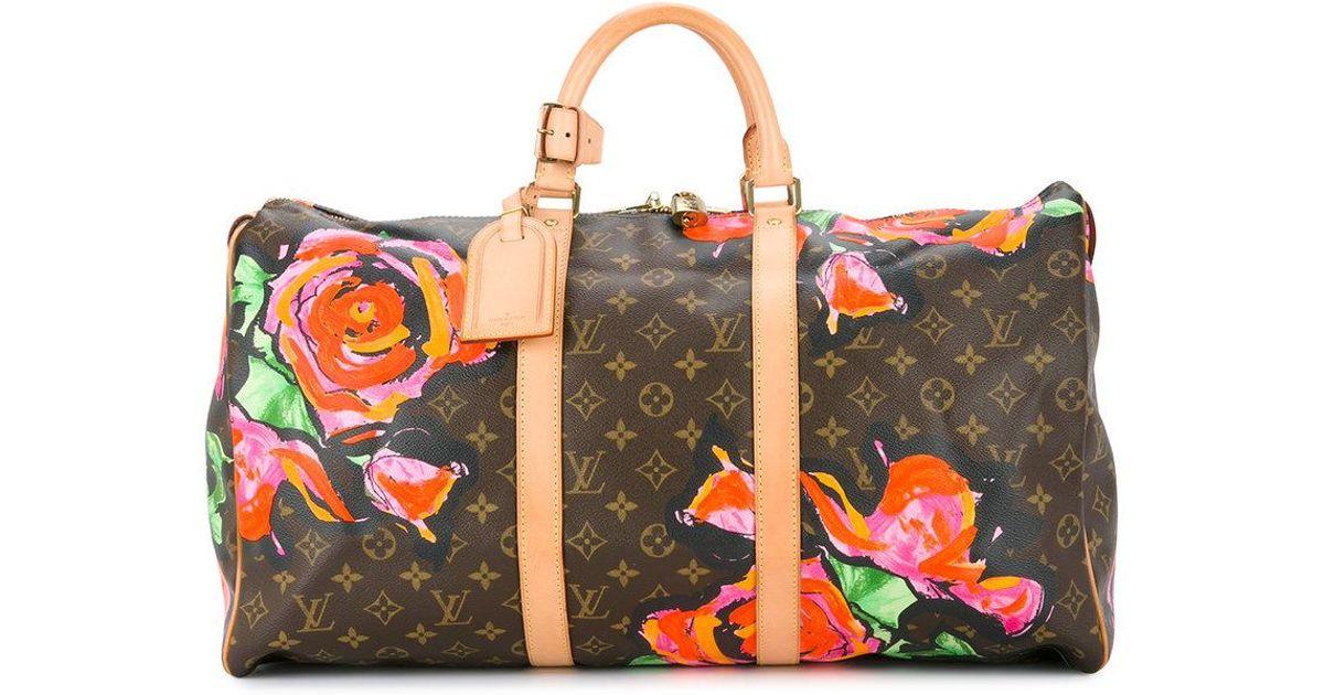 Lyst - Sac fourre-tout 50 Louis Vuitton en coloris Marron c2190632064