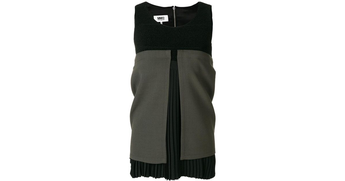 deconstructed pleated dress - Black Maison Martin Margiela GrBOc9y8