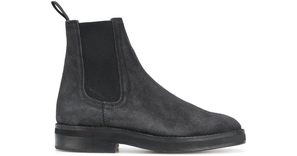 fd7fd3a1118e7 Yeezy Chelsea Boots in Black for Men - Lyst