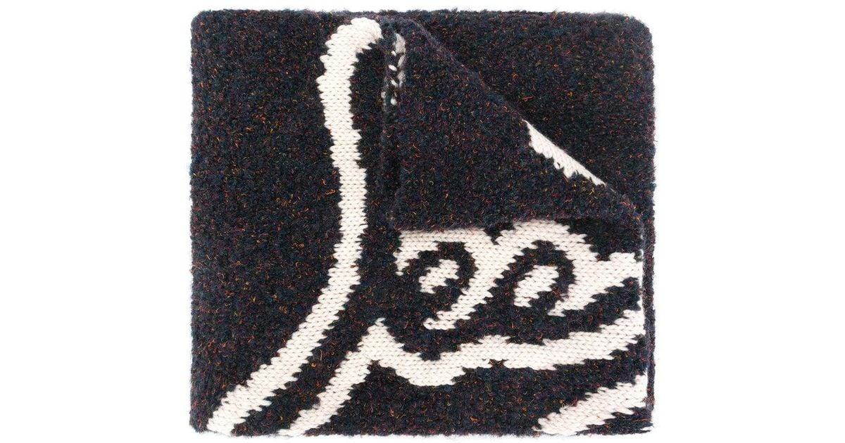Écharpe Logo Beige Voir Par Chlo zqHBPg