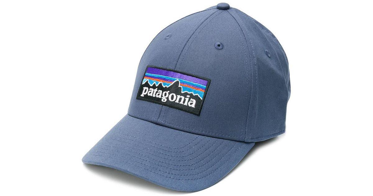 Parche Con Logo Gorra De Béisbol - Patagonia Azul Set9w2rD