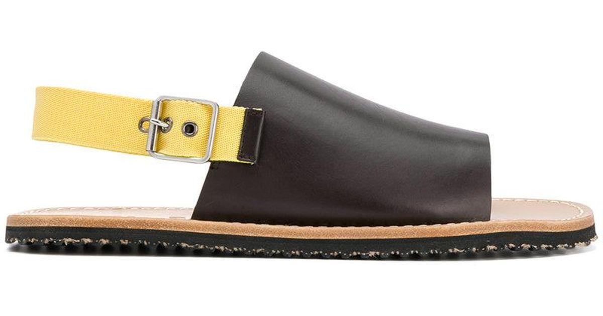 boho chic sandals - Brown Marni ZZTUR