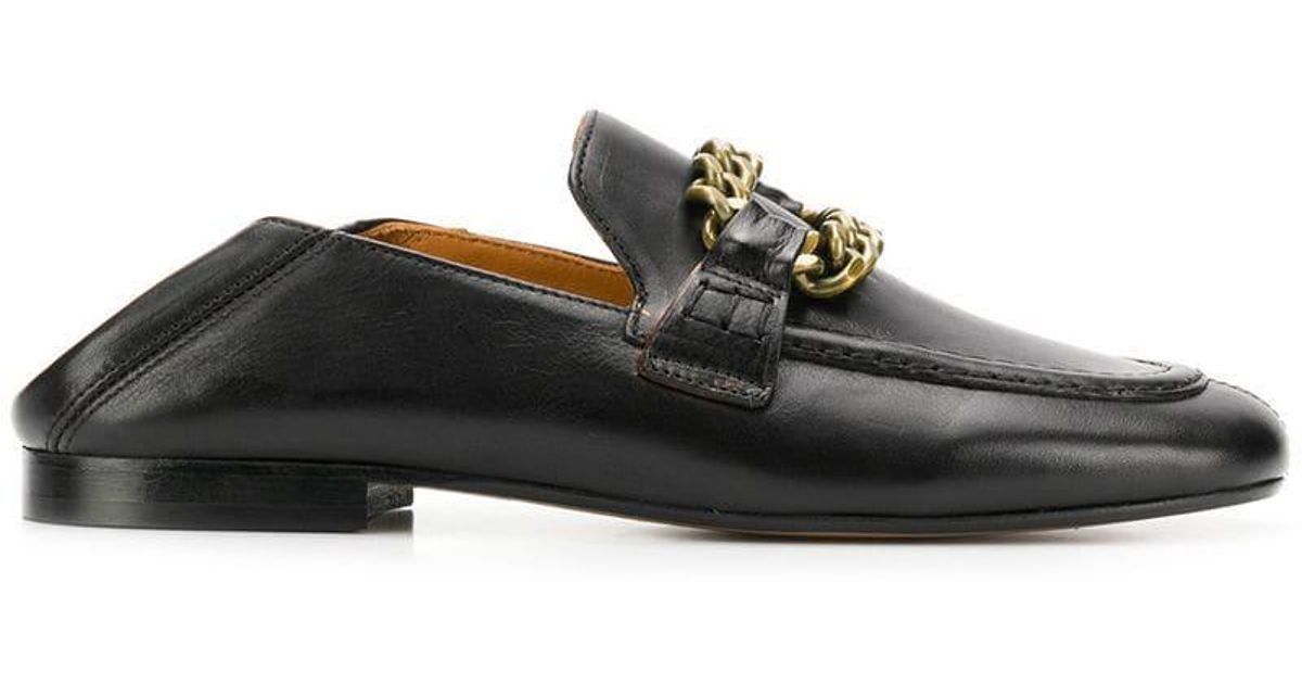 dc6d2f26318 Lyst - Isabel Marant Firlee Loafers in Black