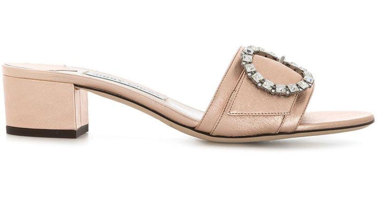 Granger sandals - Metallic Jimmy Choo London p81Fu1vQd