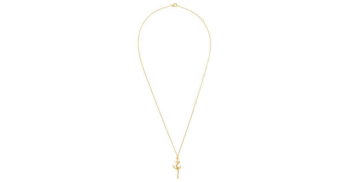 vampire heart pendant necklace - Metallic Kasun London DfE90