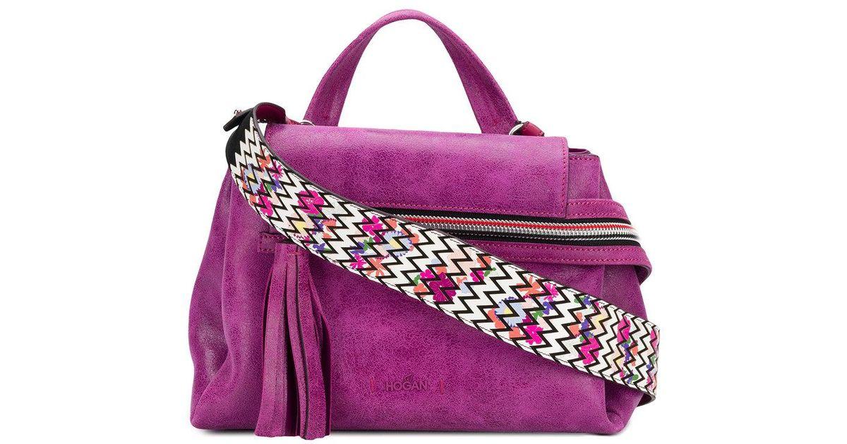 Hogan Purple shoulder bag jRzGV