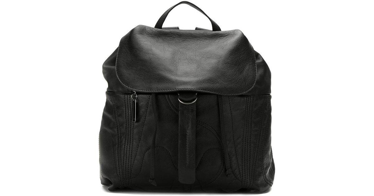 Backpack Lyst Black Mara In Mac Stitched qqvwTU