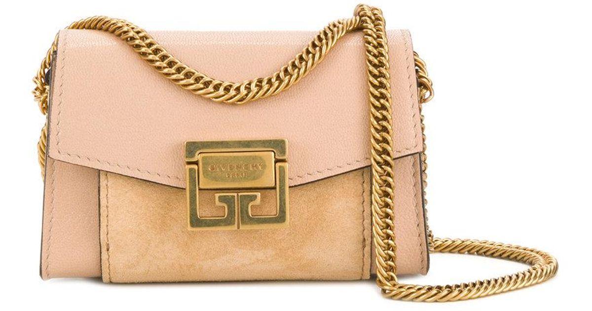 4b1b31e7b04d Givenchy Nano Gv3 Shoulder Bag - Lyst