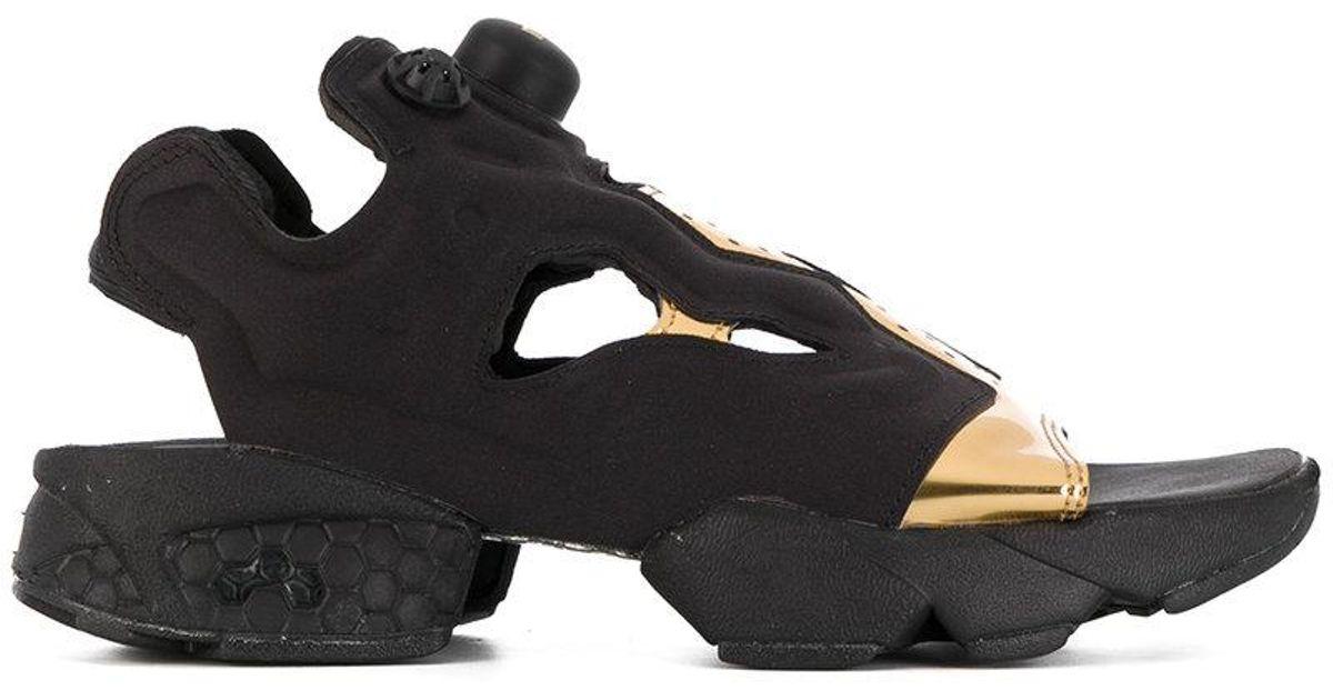 Sports Lyst Reebok Black Black Sandals Reebok dCxeBro