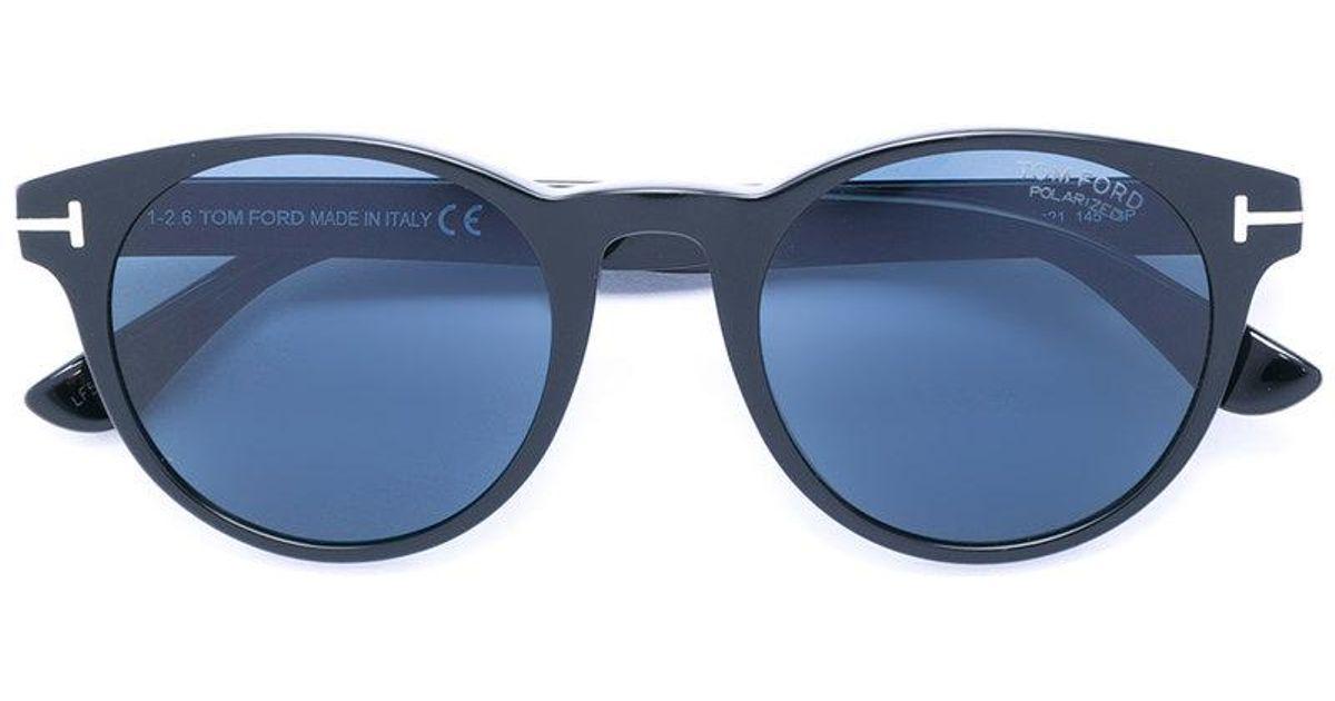 d7814d6b0410 Tom Ford Palmer Sunglasses in Black - Lyst