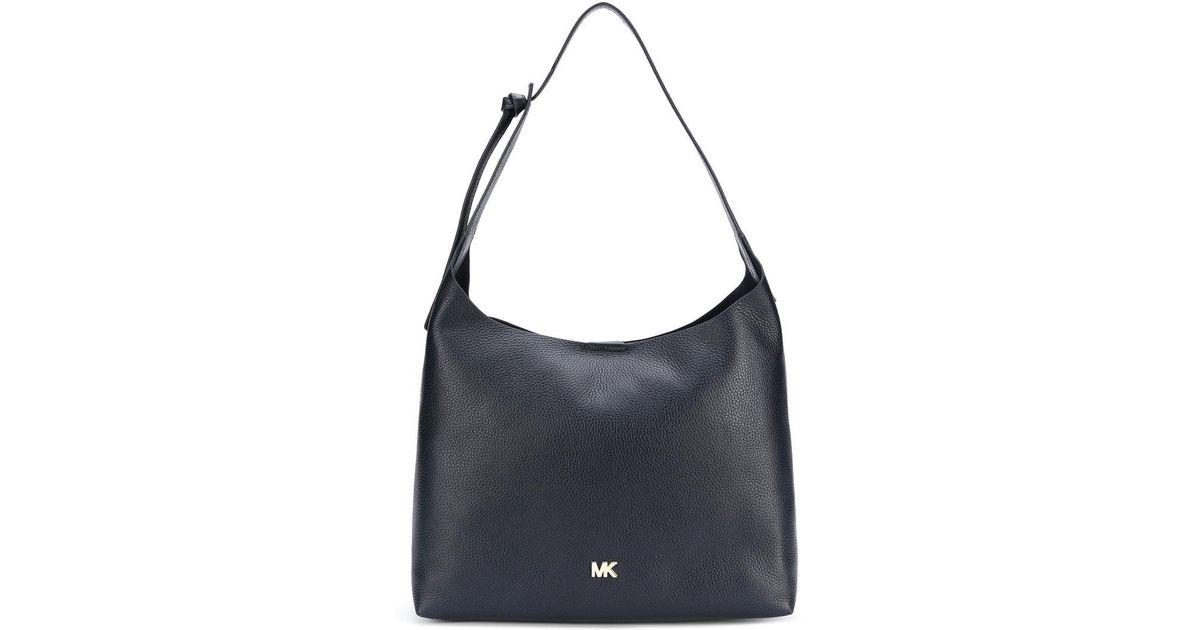 b42e9ce7e1de Lyst - MICHAEL Michael Kors Classic Shoulder Bag in Blue