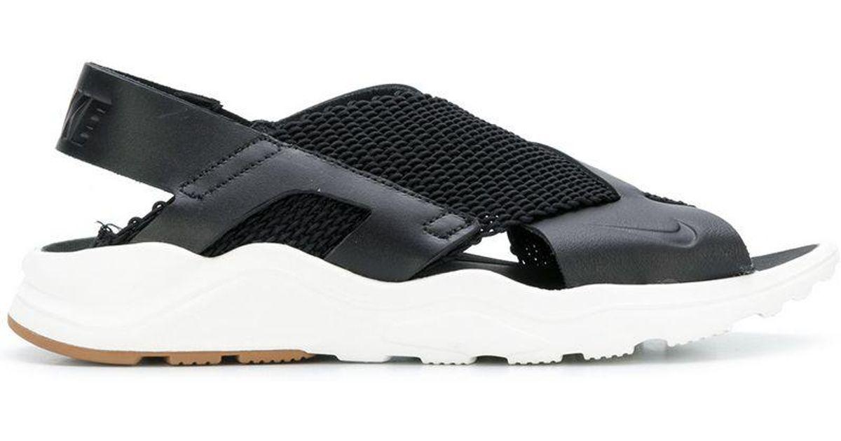 446d6a7ea4b66 Lyst - Nike Air Huarache Ultra Sandals in Black