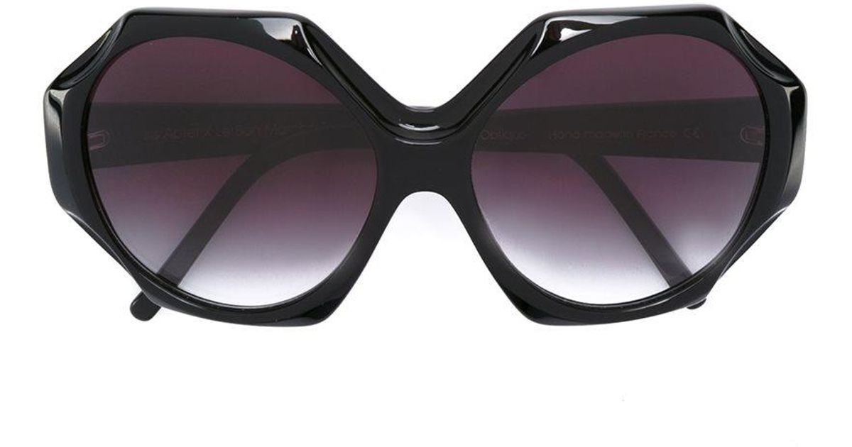 2a62b94119b5 Lyst - Selima Optique  iris Apfelx  Sunglasses in Black