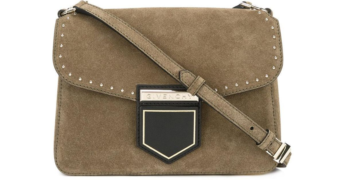 6321942a54 Lyst - Givenchy Mini Nobile Crossbody Bag in Green - Save 40%