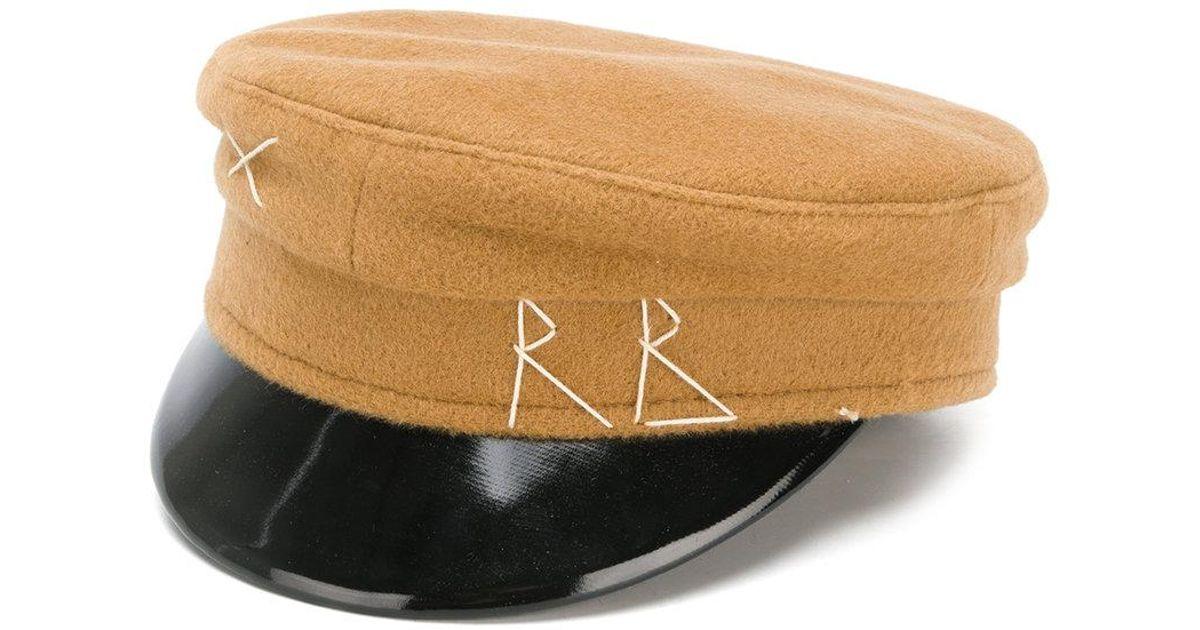 2ef91578731 Ruslan Baginskiy Front Logo Cap in Brown - Lyst