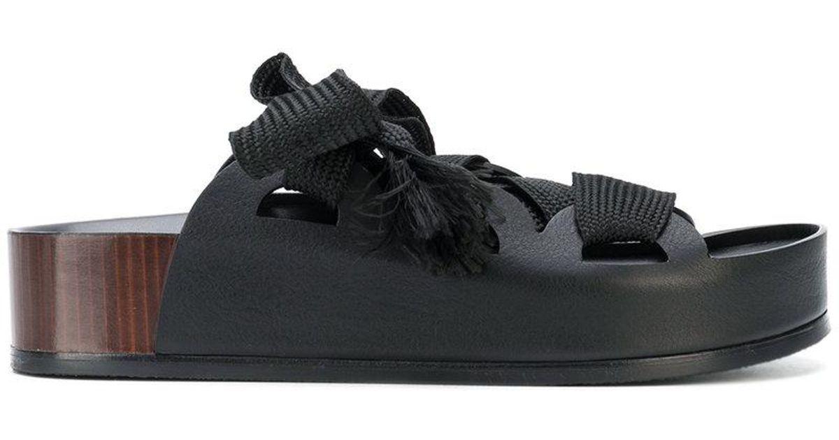 Chloé Chunky lace sandals uakFGO