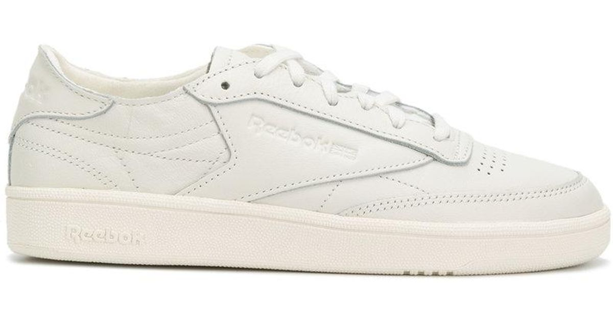 Lyst - Reebok Exaggerated Sole Sneakers in White 6323d1ab0fc1