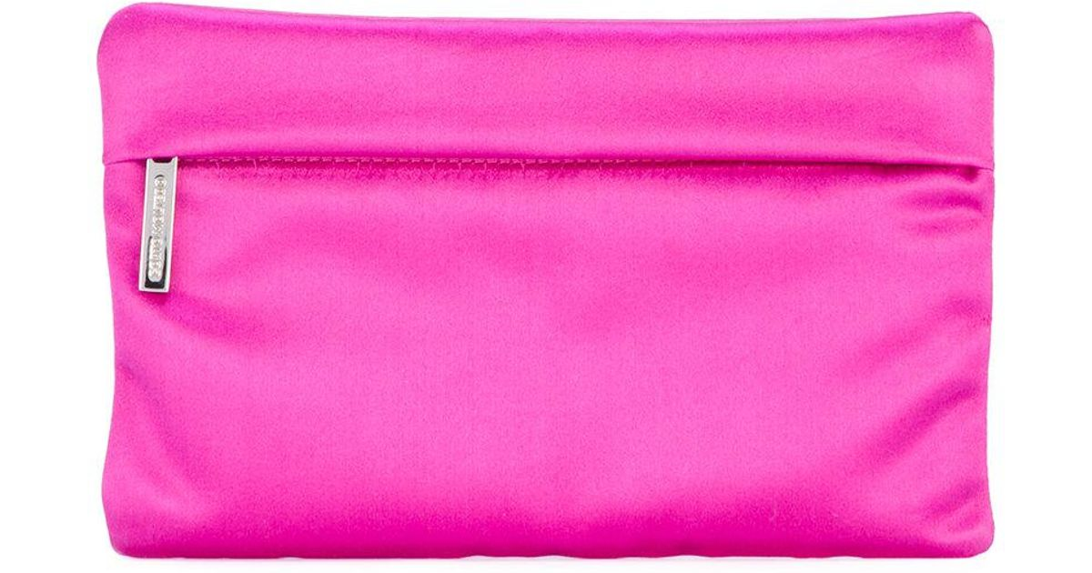 Sybil clutch - Pink & Purple Corto Moltedo Largest Supplier Online RvahsksJg