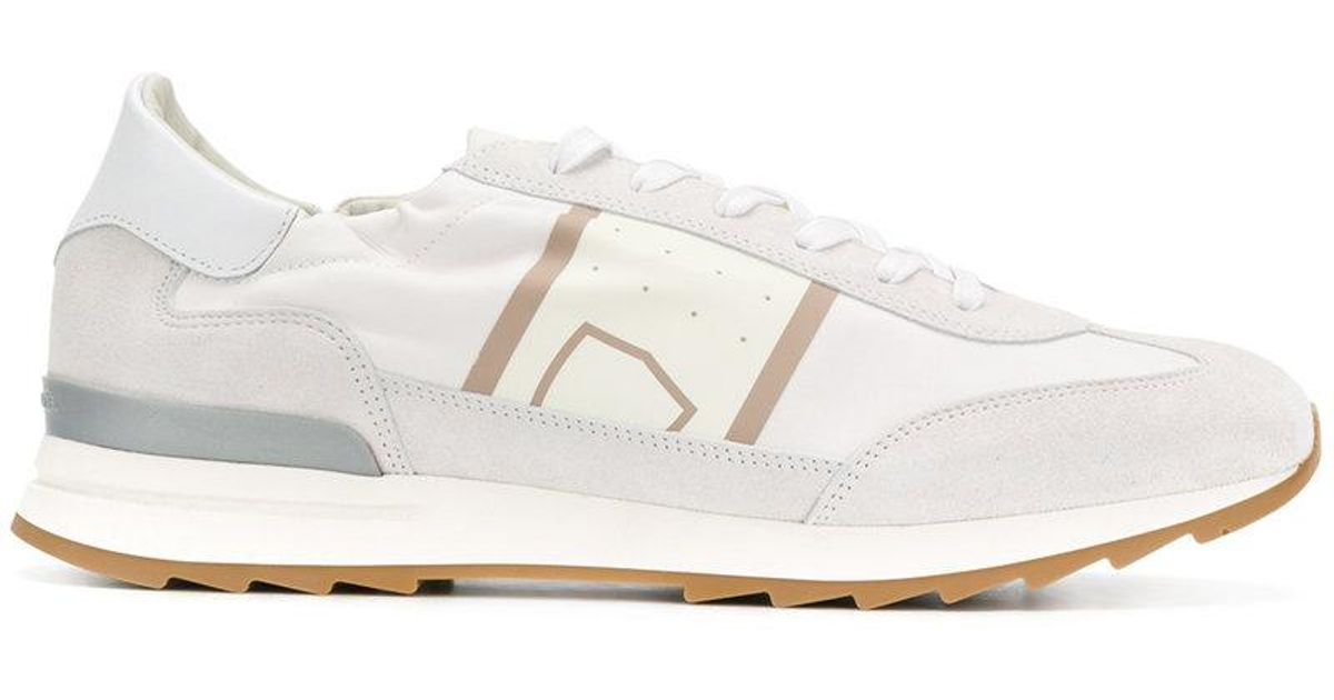 White Toujours Sneakers Philippe Model qeDeM