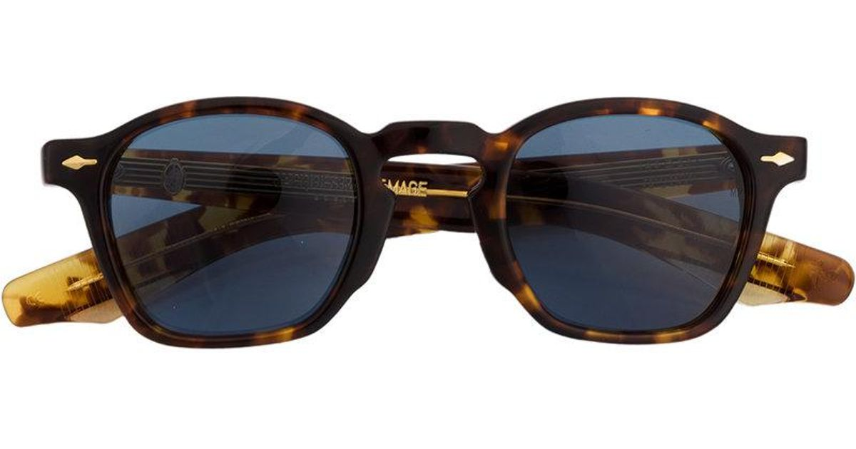 555c01ded2 jacques-marie-mage-Brown-Chunky-Sunglasses.jpeg