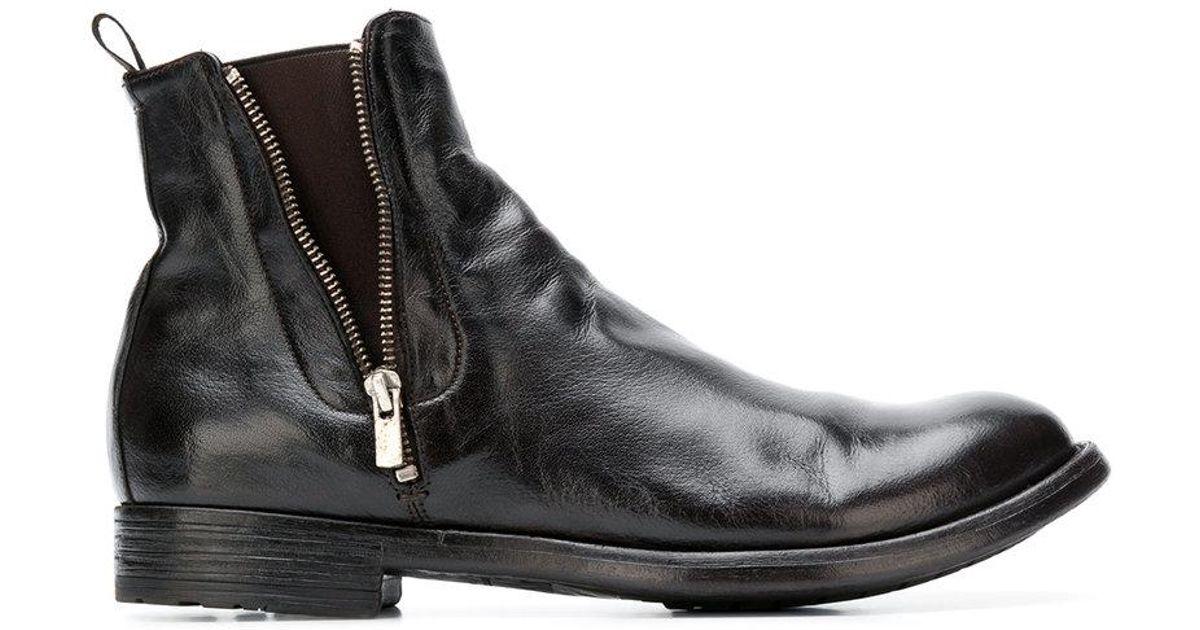 Envío Libre Ebay Acuerdos De Libre Envío Officine Creative Legrand zip ankle boots - Black farfetch neri Muy En Línea Unisexo IVcSv