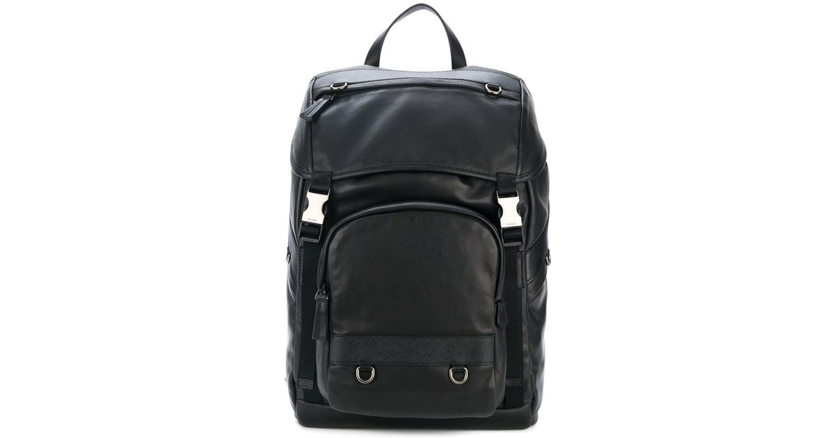 085e4da13ab1 Prada Classic Backpack in Black for Men - Lyst