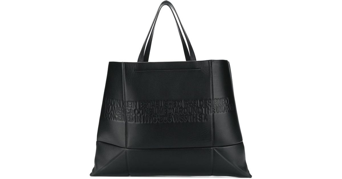 Calvin Klein 205W39nyc geometric shopping tote Cheap Sale Visit New Clearance Wide Range Of Clearance Footlocker Pictures Sale Fast Delivery Supply Cheap Online Rvzf4HW