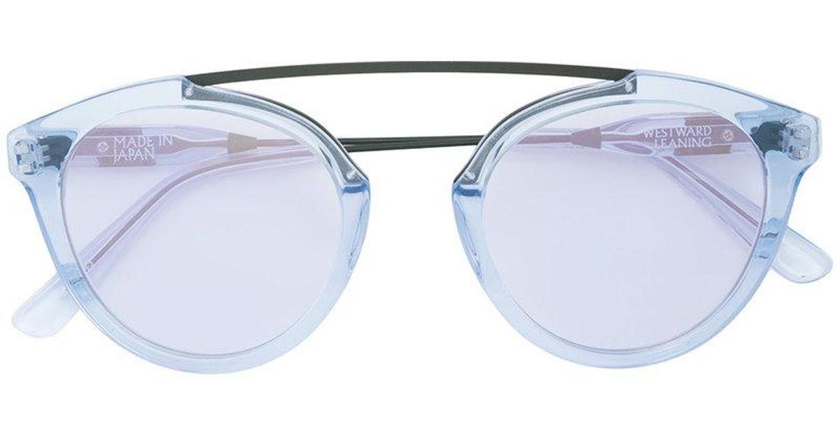 Flower 13 tortoiseshell sunglasses - Pink & Purple Westward Leaning h5www1