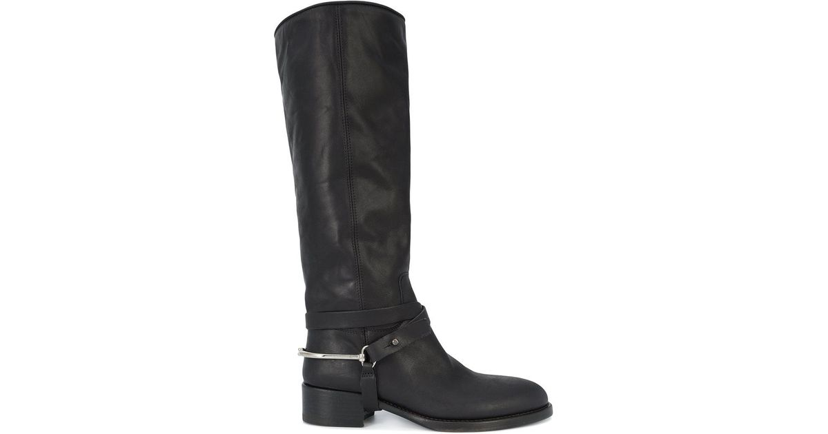 CHUCKiES New York Leather Knee-High Boots wiki cheap price buy cheap get to buy eastbay online zWWEE9
