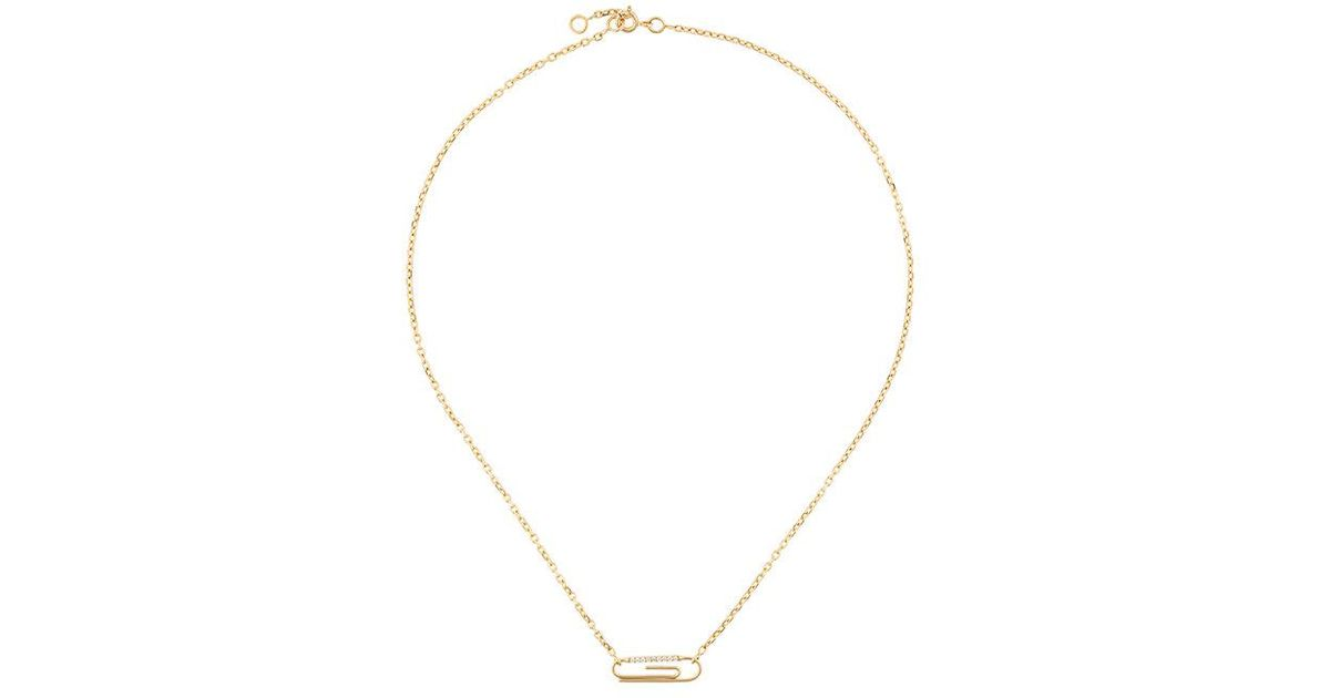 View Online Buy Cheap Fashion Style Aurelie Bidermann 18kt yellow gold 'Chivoir' lariat necklace Low Shipping Cheap Sale Best Seller pkcYMAX