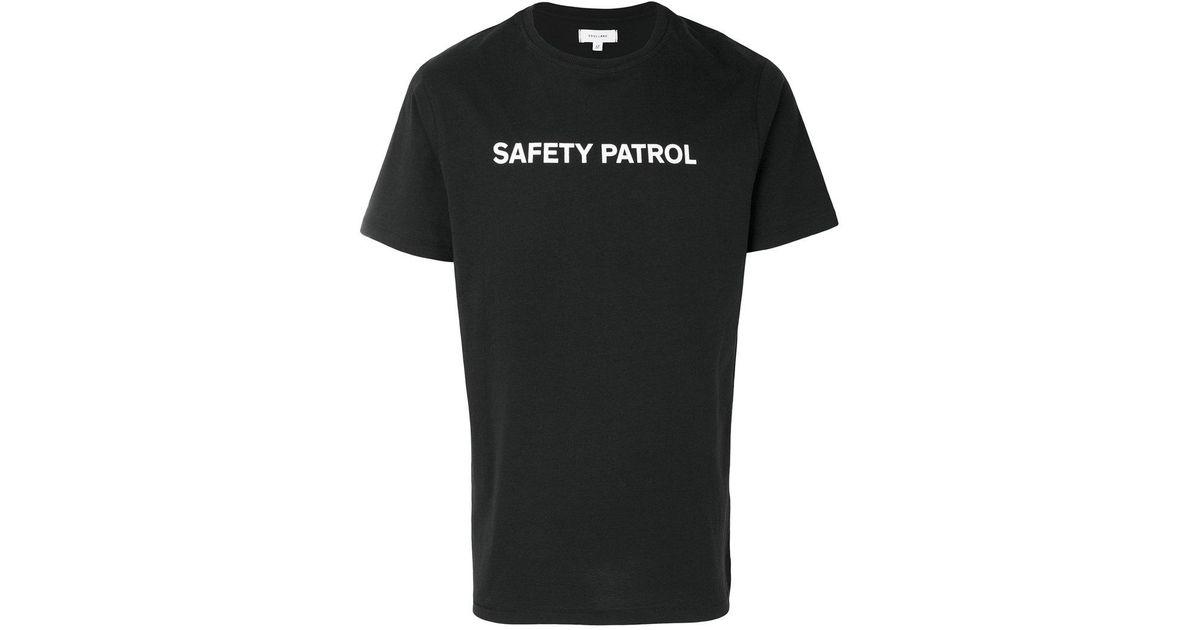 c75ab2439 Lyst - Soulland Safety Patrol T-shirt in Black for Men