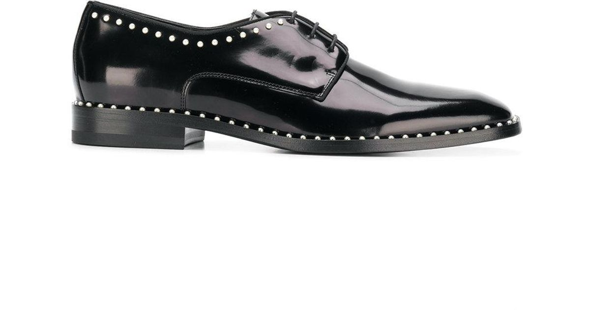 a567c1b7b0f Jimmy Choo Stefan Lace-up Shoes in Black for Men - Save 63% - Lyst