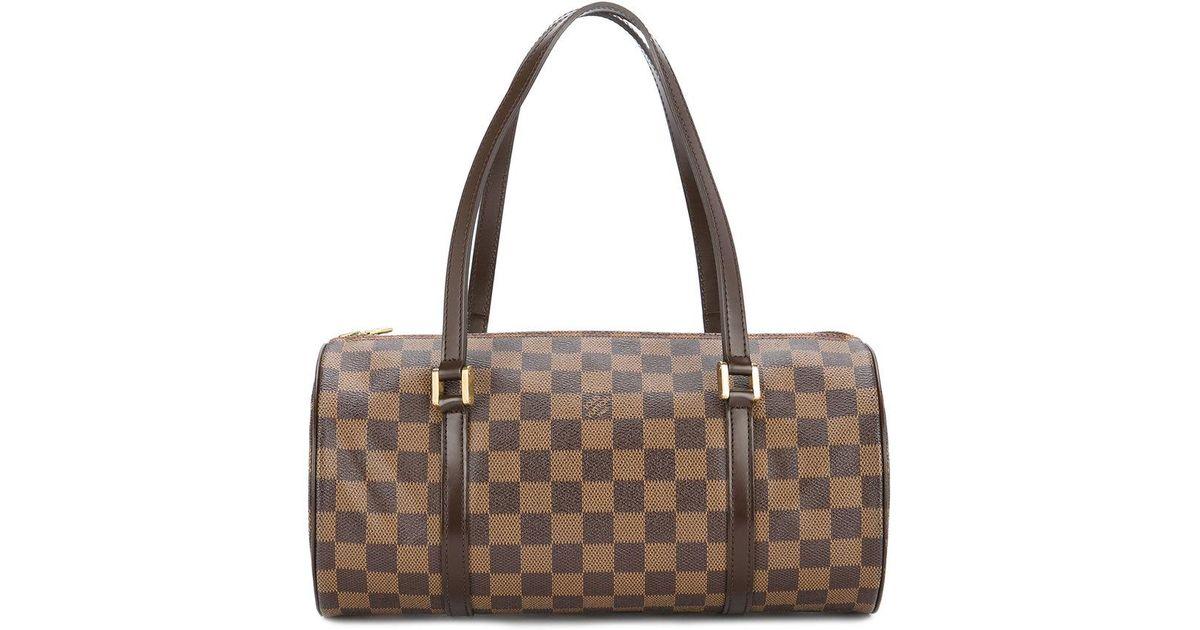 b40bfe98a Bolso de mano Damier Papillon 30 Louis Vuitton de color Marrón - Lyst
