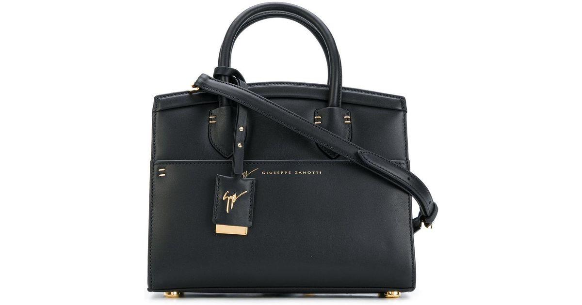 fdd889220a14 Giuseppe Zanotti Mini Angelina Tote Bag in Black - Lyst