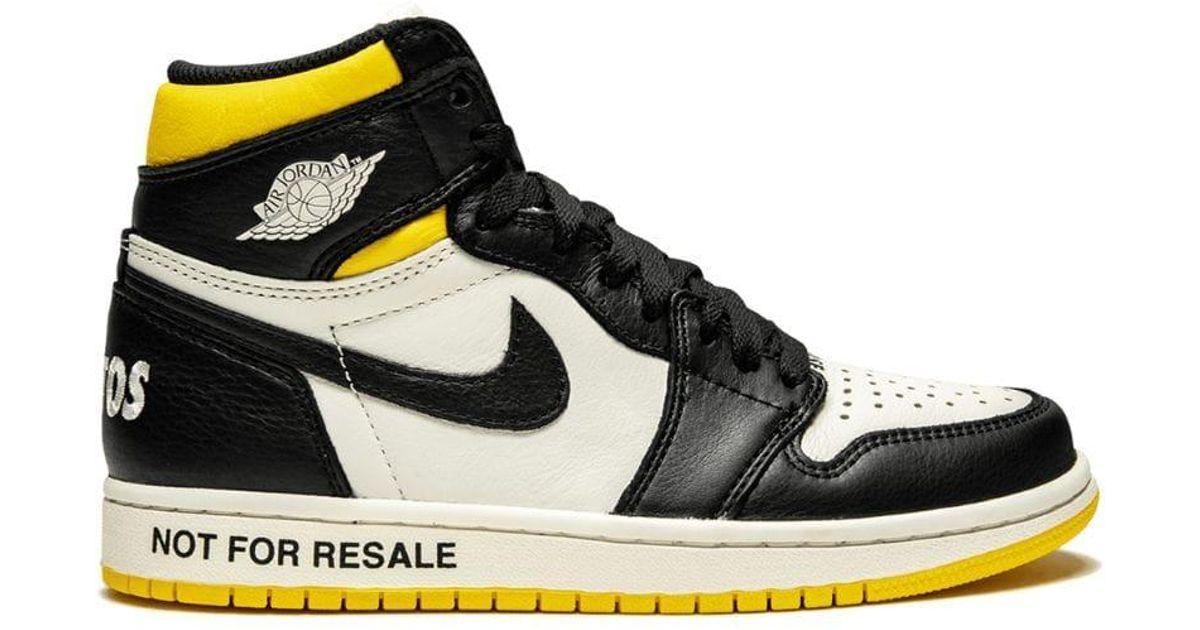 696d4c045a2 Nike Air 1 Retro High Og Nrg Sneakers in Black for Men - Lyst