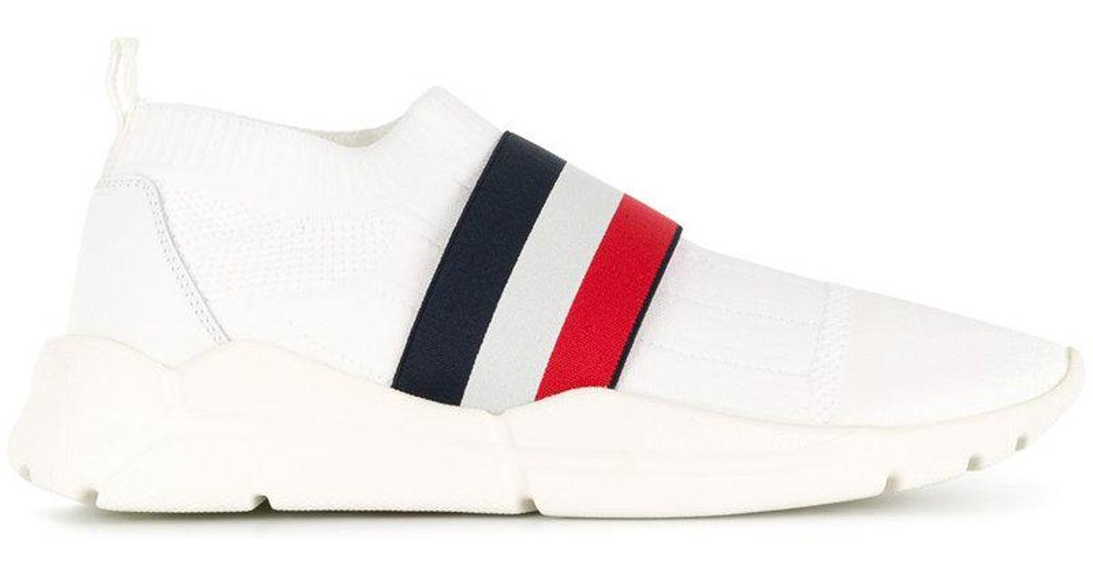 af6768ddc Moncler Adon Scarpa Sneakers in White for Men - Lyst