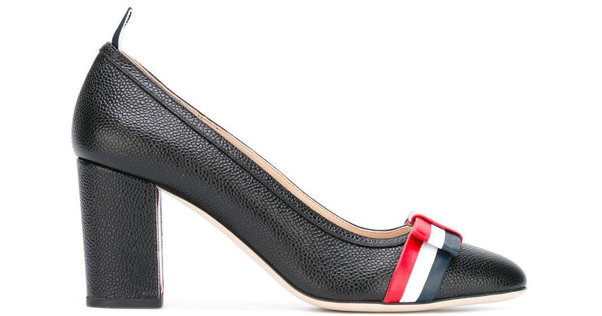 Givenchy Black Wholecut Bow Heels tSPOq