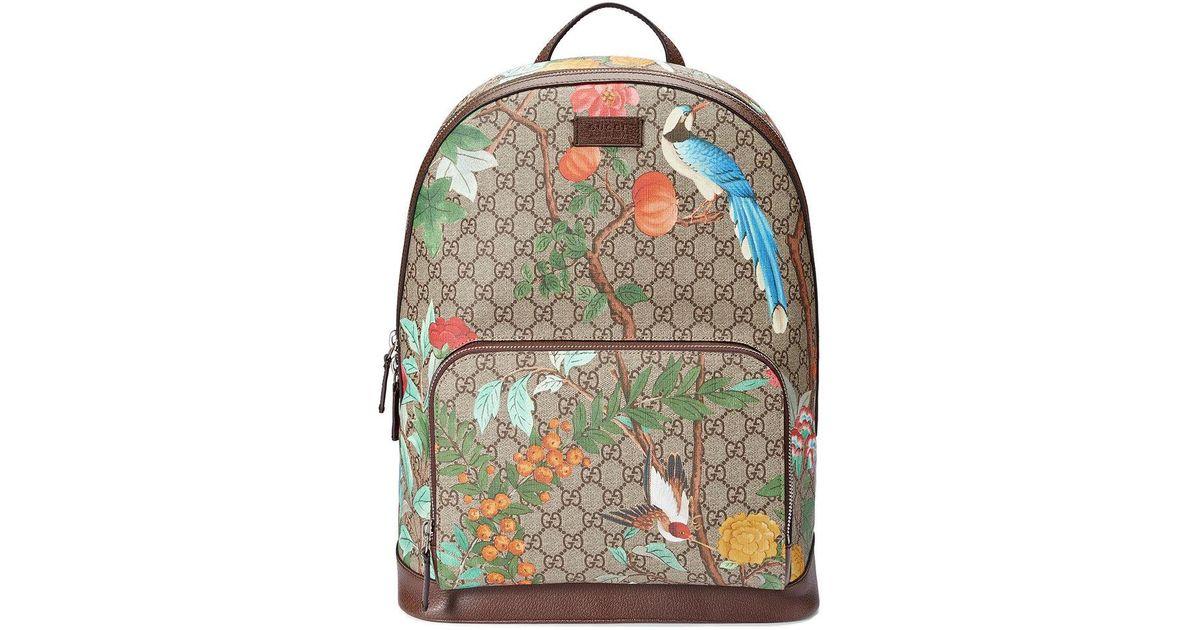 3b505321b2a7 Gucci Tian Gg Supreme Backpack - Lyst