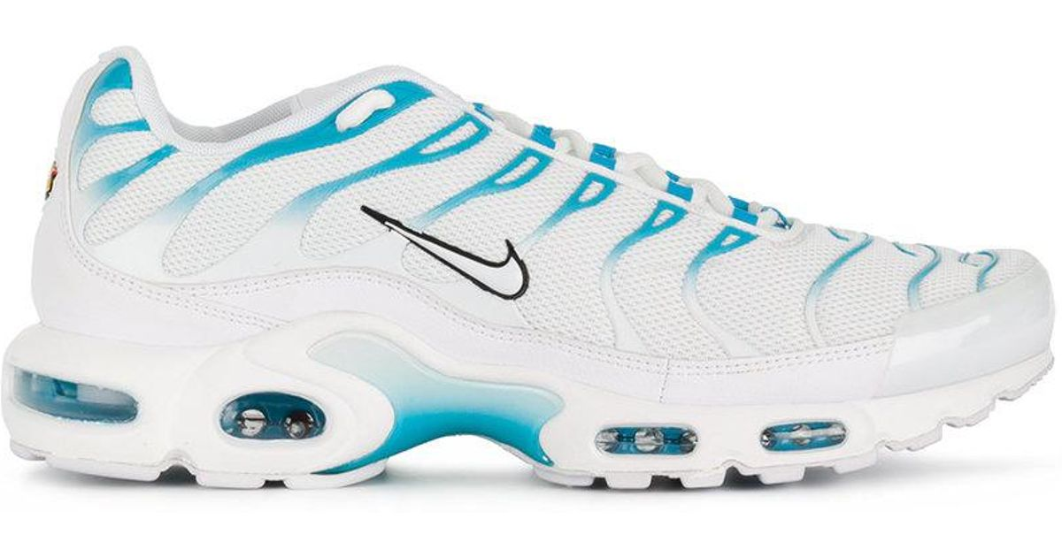 477ed1f3433f Lyst - Nike Air Max Plus Tn  blue Fury  Sneakers in White for Men