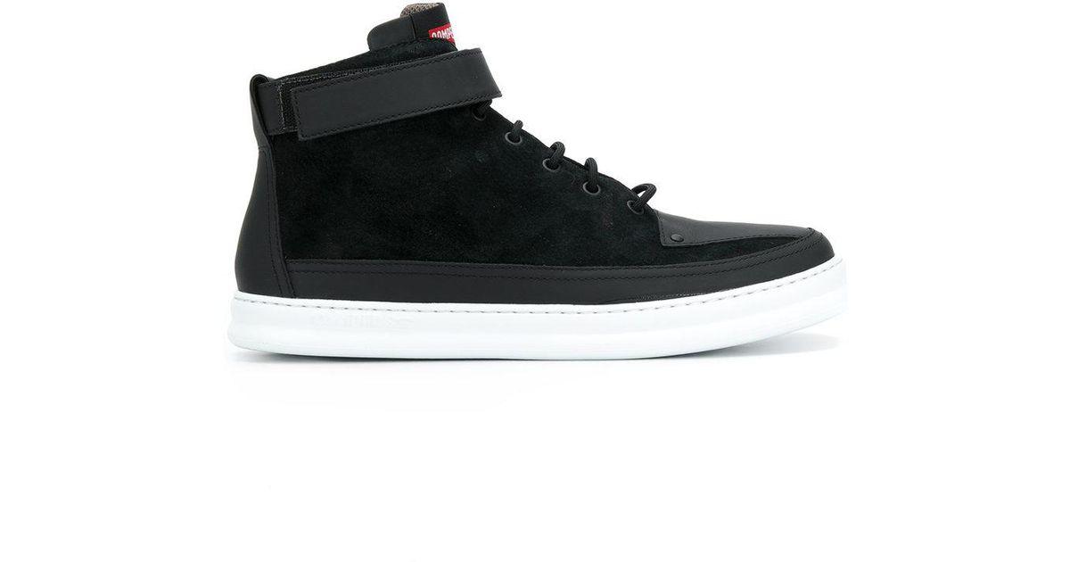 release date: 056af 84aa3 Lyst - Camper Runner Four Hi-top Sneakers in Black for Men