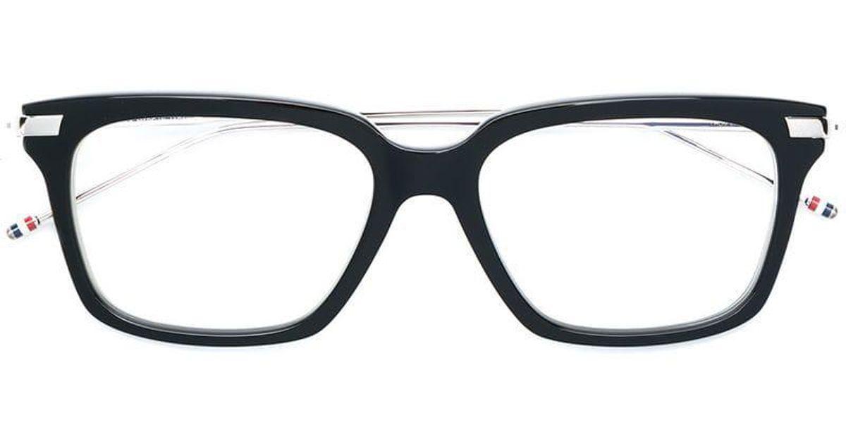 a160e152e0 thom-browne-Black-Rectangle-Frame-Glasses.jpeg