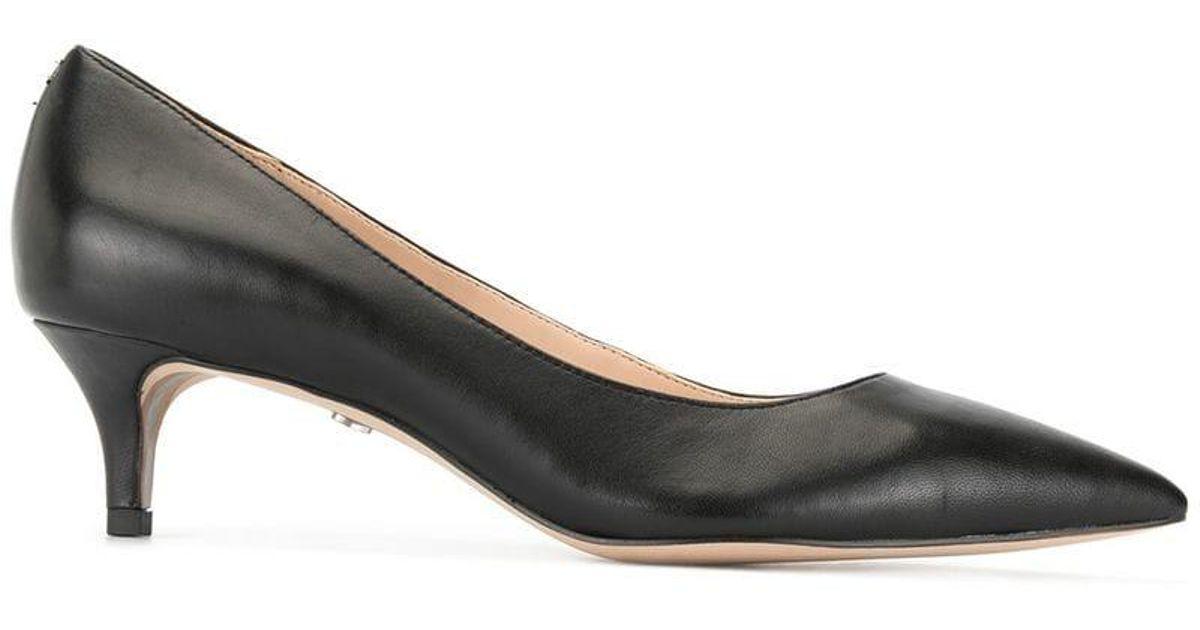 e4440f364b Lyst - Sam Edelman Dori Kitten Heels in Black