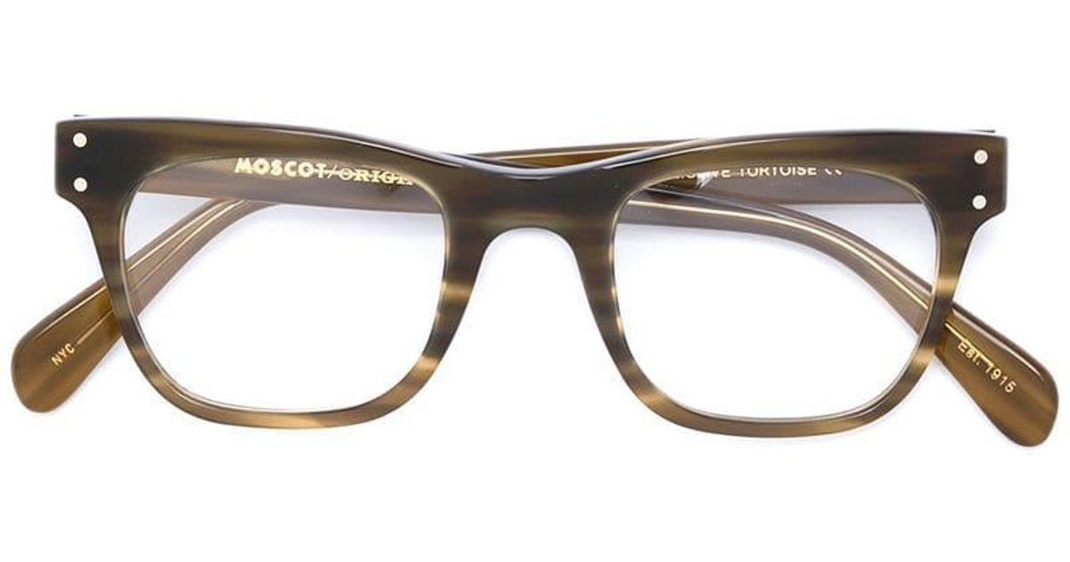 0ba2c70bff Moscot  baba  Glasses in Brown - Lyst